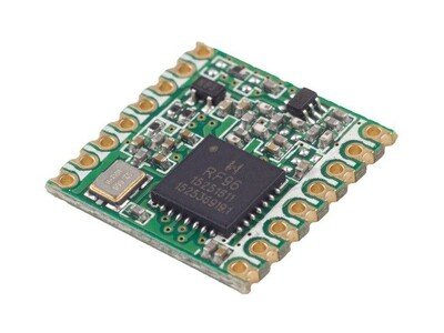 RX TXRX Module ISM 1GHZ SMD