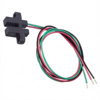SR16C-J6 Magnetic Hall Effect Sensor Ferrous Vane Digital Wire Leads Slotted Body