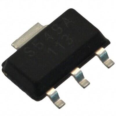 SS59ET Sensor Hall Effect Analog Single Axis SOT-89B