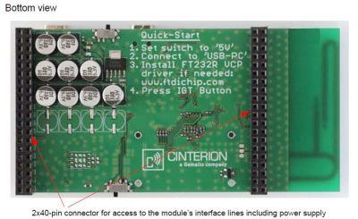 B60 Starter Kit (Gemalto BG2 / BGS2 Eval. Modüller için)