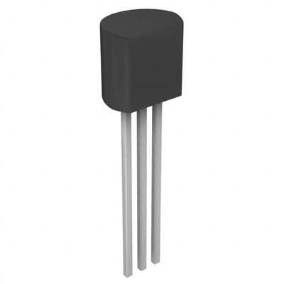 Temperature Sensor Analog, Local 0°C ~ 100°C 10mV/°C TO-92-3