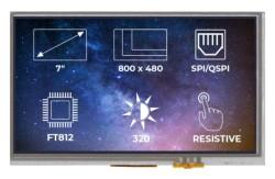 TFT-LCD Display Ekran FT812 RTP - Thumbnail