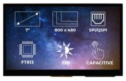 TFT-LCD Display Ekran FT813 CTP - Thumbnail