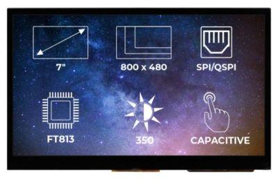 TFT-LCD Display Ekran FT813 CTP