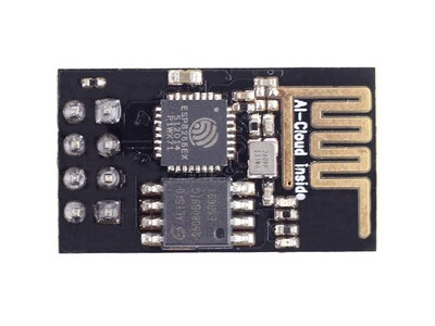 WiFi 802.11b/g/n Transceiver Module 2.4GHz ~ 2.48GHz Integrated, Trace Through Hole