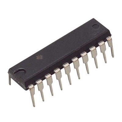 Transceiver, Non-Inverting 1 Element 8 Bit per Element 3-State Output 20-PDIP