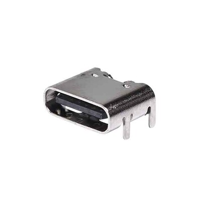 USB-C (USB TYPE-C) Receptacle Connector 24 (6+18 Dummy) Position Surface Mount, Right Angle; Through Hole