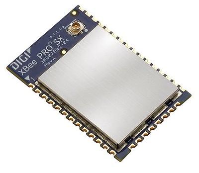 XBEE SX 868, 25 MW, Disgimesh/P2M, RF Pad